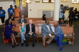Faith Johnson, Judge Brandon Birmingham, State Senator Royce West