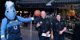 Dallas Mavericks' Champ, Sgt. Robert Munoz, Dallas Police Department